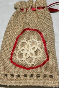 tn_Brown pouch red drawstring